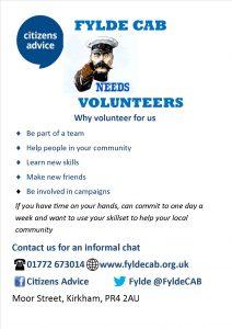 Volunteer Recruitment Ad A4